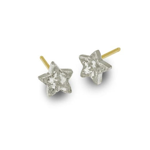 Tiny Center Star Stud Earring-Brevard