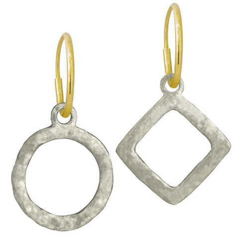 Compass Mismatch Earring Pair-Brevard