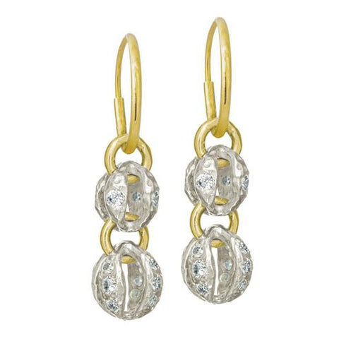 Lotus Double Drop Earring-Brevard