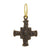Black Diamond Medium E.T. Cross • Endless Hoop Charm Earring-Brevard