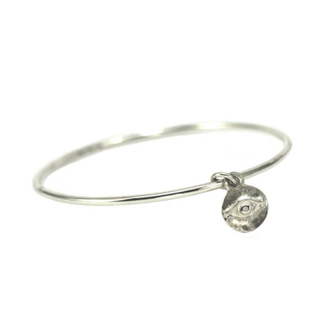 Eye of Horus Charm Bangle-Brevard