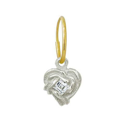 Fancy Heart Earring-Brevard