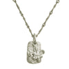 Fleur de Lis Layered Tablet Necklace-Brevard