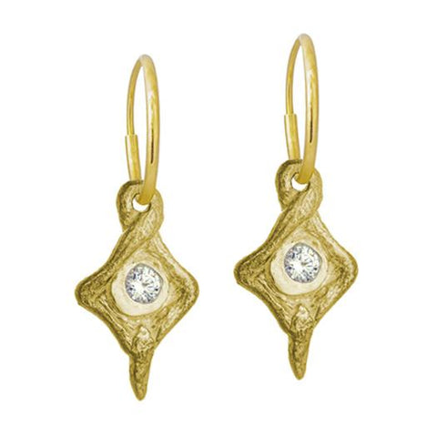 Gold Hummingbird Earring-Brevard