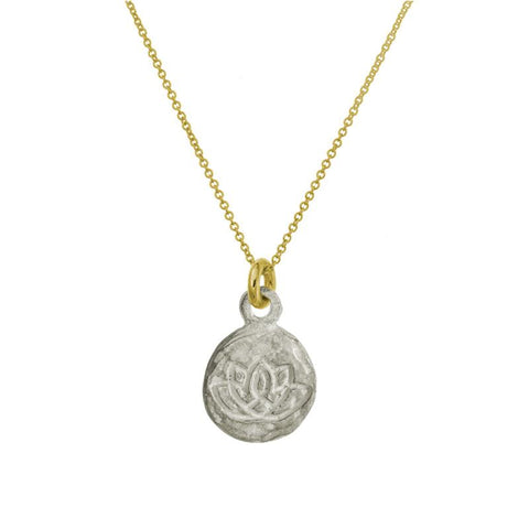 Two-Tone Living Beauty Charm Necklace-Brevard