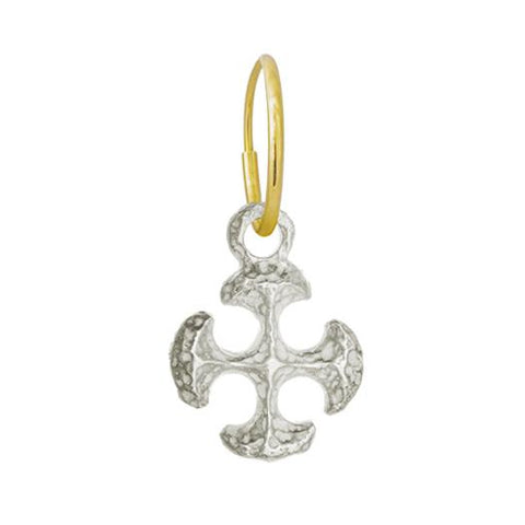 Lotus Cross Earring-Brevard