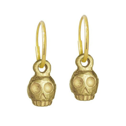 Gold Medium Rodger Earring-Brevard