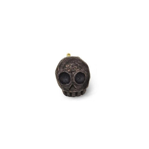 Oxidized Medium Rodger Stud Earring-Brevard