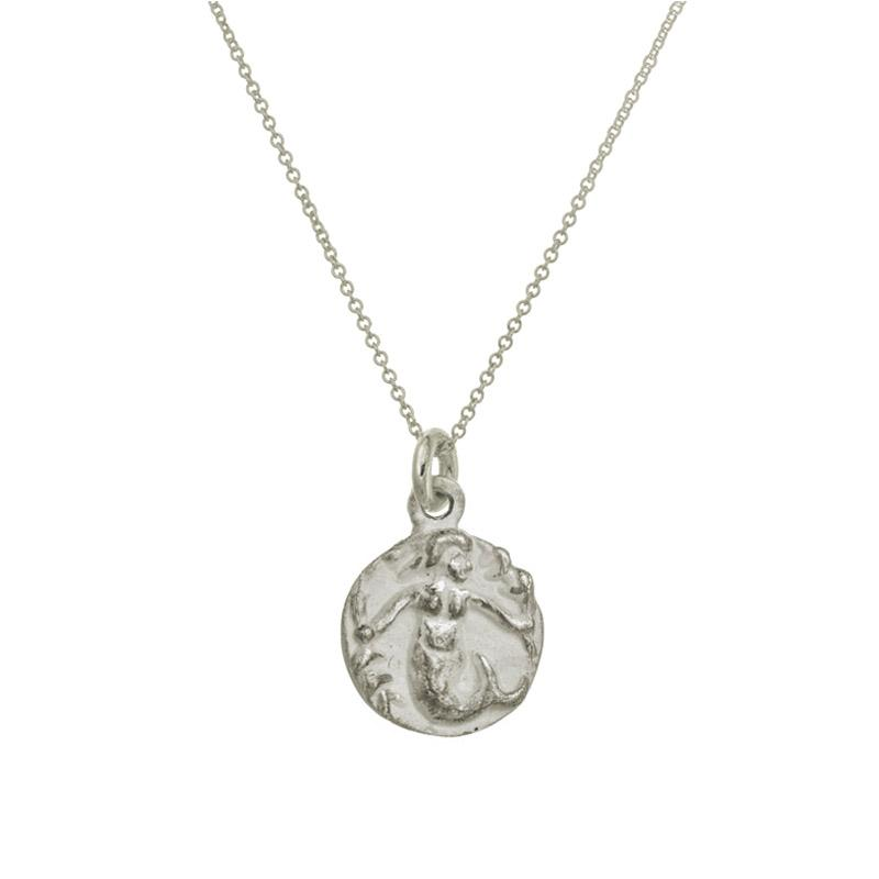 Mermaid Charm Necklace-Brevard