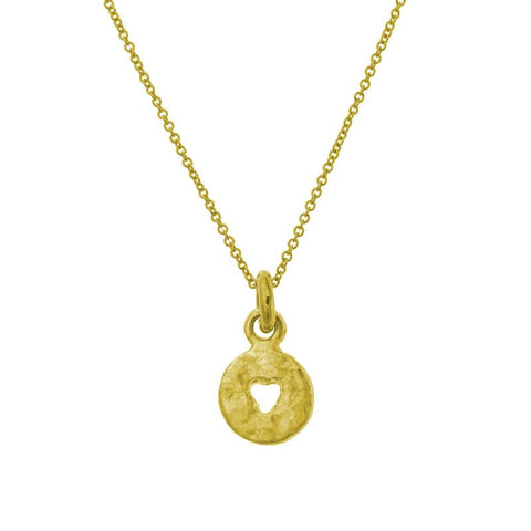 Gold Mini Money Charm Necklace-Brevard