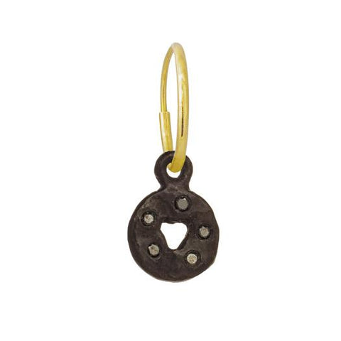 Black Diamond Mini Money Earring-Brevard