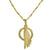 Gold Oglala Layered Pendant Necklace-Brevard