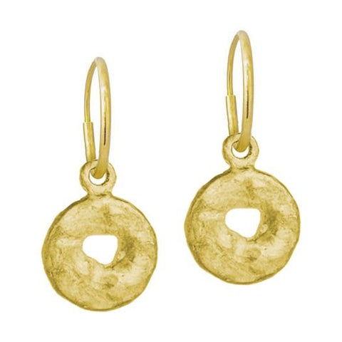 Gold Old Money Earring-Brevard