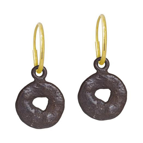 Oxidized Old Money Earring-Brevard