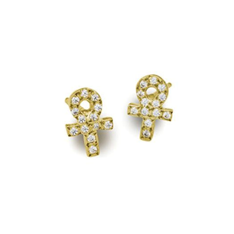 228adaa1a 18k Gold Tiny Stud Earring Collection • LEE BREVARD | Brevard