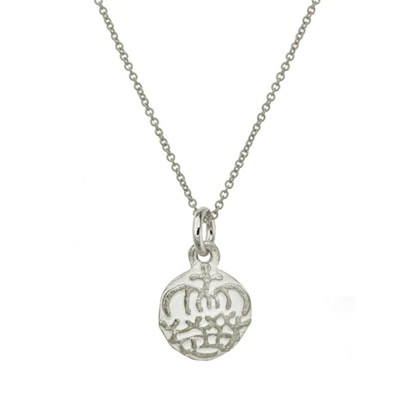 Reina Crown Charm Necklace-Brevard