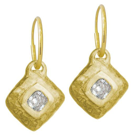 Gold Roma Diamond Earring-Brevard