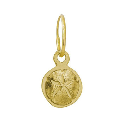 Gold Carrillo Sand Dollar Earring-Brevard