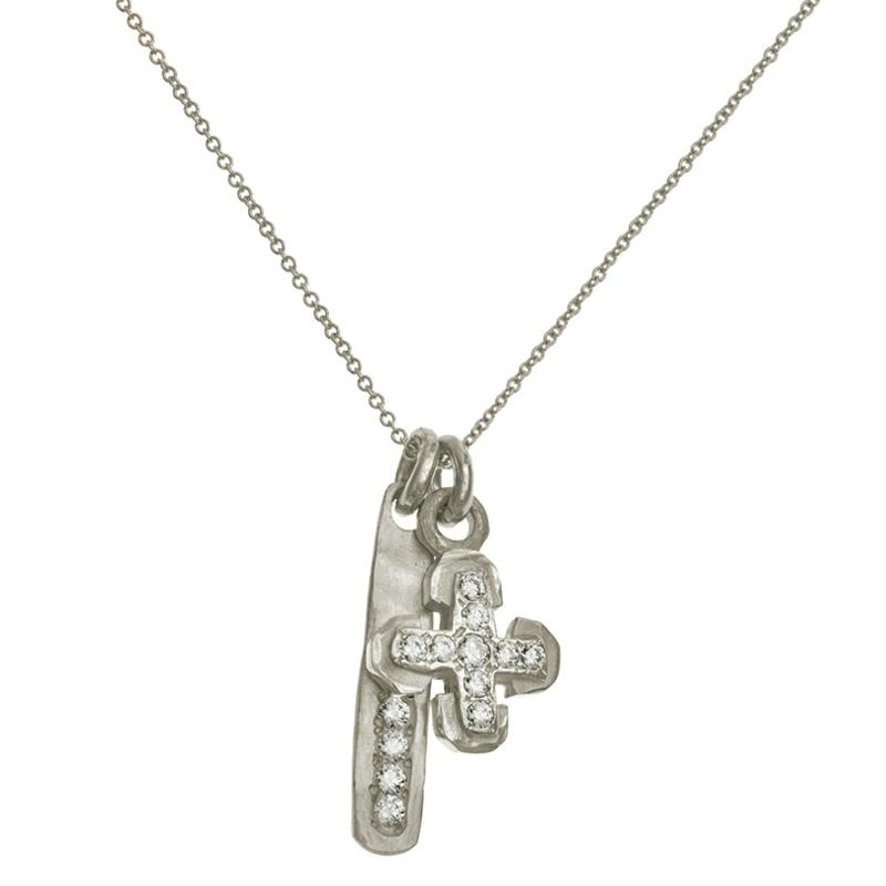 Segovia Double Charm Necklace-Brevard