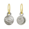 Medium Horus + Star and Crescent Mismatch Earring Pair-Brevard