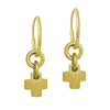 Gold Thundercross Earring-Brevard