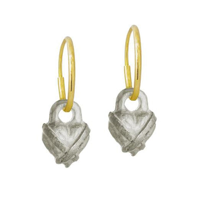 Tiny Bandit Heart Earring-Brevard