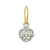 Tiny Renia Coin Earring-Brevard