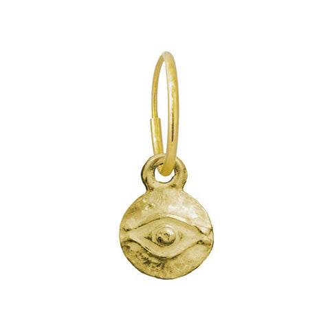 Gold Tiny Horus Earring-Brevard