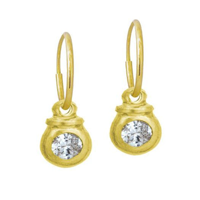Gold Kupid Earring-Brevard