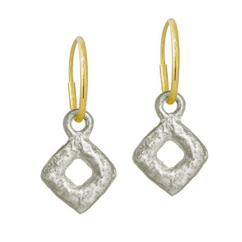 Tiny Diamond Old Money Earring-Brevard