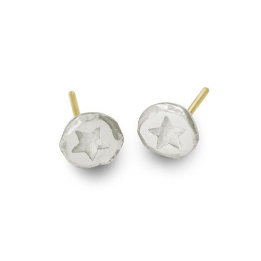 Tiny Star Stud Earring-Brevard