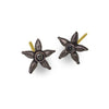 Black Diamond Tiny Stella Stud Earring-Brevard