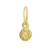 Gold Tiny Taurus Earring-Brevard