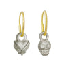 Tiny Bandit Heart + Rodger Mismatch Earring Pair-Brevard