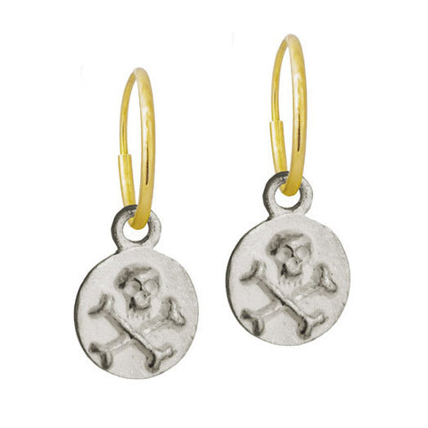 Tiny Pirate Coin Earring-Brevard