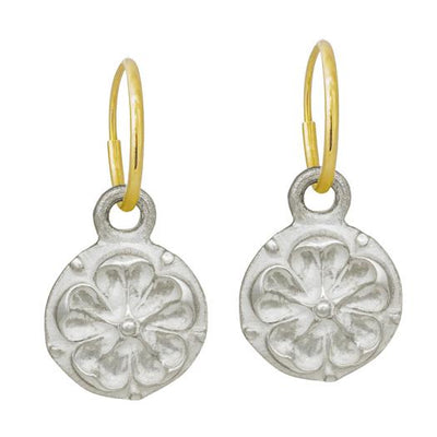 Tudor Rose Coin Earring-Brevard