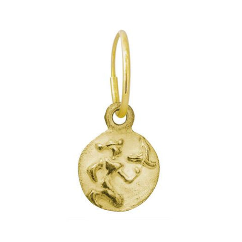 Gold Virgo Earring-Brevard