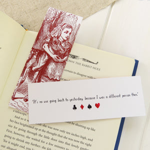 Alice in Wonderland Bookmark Set - Literary Emporium