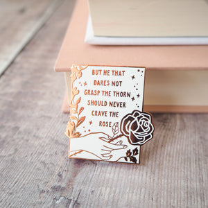 Women Poets Enamel Pin Set