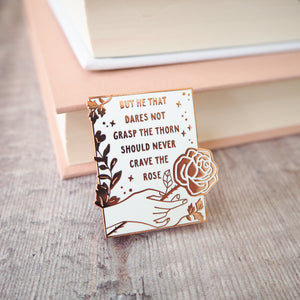 Anne Brontë Enamel Pin - Women Poets Collection