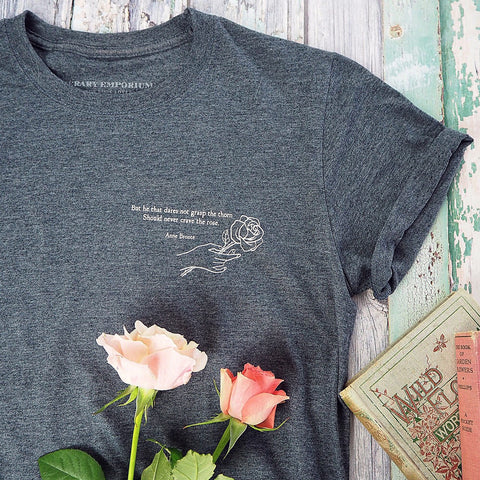Anne Bronte Quote T-shirt