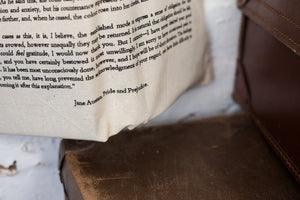 Pride And Prejudice Cotton Tote Bag - Literary Emporium