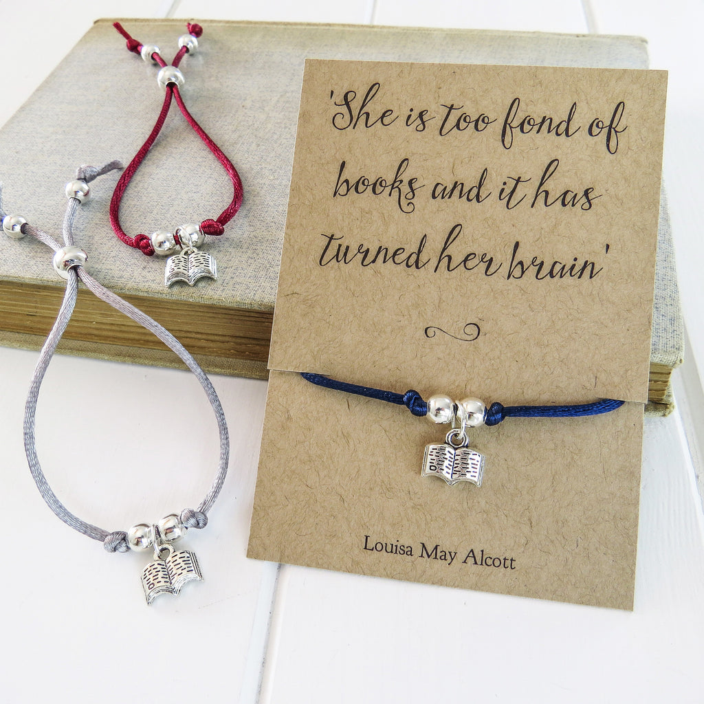 Book Lover Friendship Bracelet - Literary Emporium