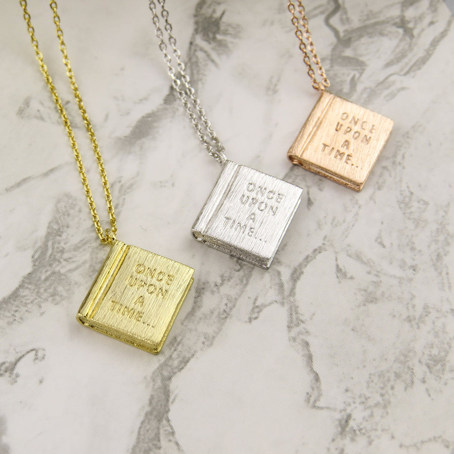Book Necklace - Literary Emporium