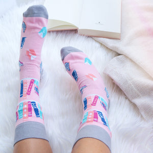 Book Lover Socks - Literary Emporium