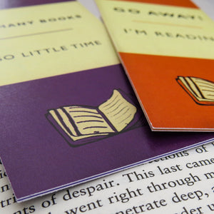 Book Lover Bookmark Set - Literary Emporium