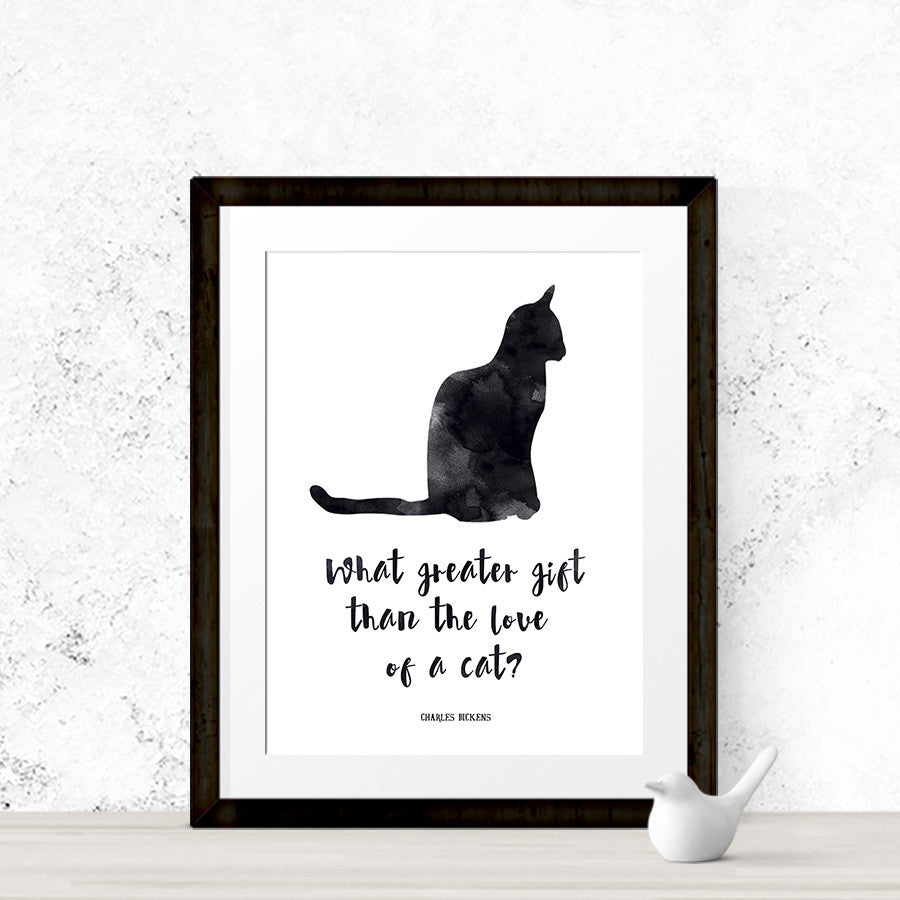Cat Lover Print - Literary Emporium
