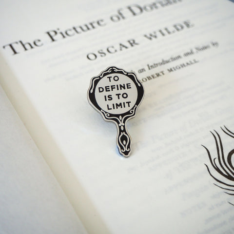 The Picture of Dorian Gray Enamel Pin - Gothic Literature Collection - Literary Emporium