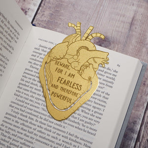 Frankenstein Brass Bookmark - Literary Emporium