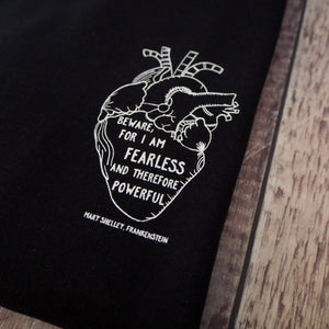 Limited Edition Black Frankenstein Sweatshirt - Literary Emporium